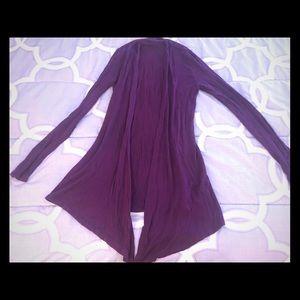 Sweaters - Purple sweater- size S